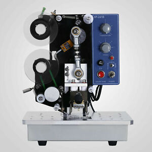 Auto 110v Color Ribbon Code Machine For Hot Stamping Labeling Date Factory Price