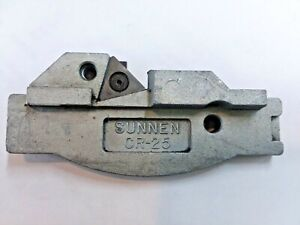 Sunnen Cr 25 Connecting Rod Chamfering Fixture Tool Hone Mandrel Honing Machine