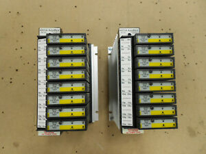 Lot Of 2 Reliance Electric Automate 45c1a I o Rail Controllers W 8 45c40 Dual