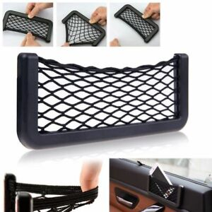 Auto Car Vehicle Storage Mesh Resilient String Bag Holder Pocket Organizer