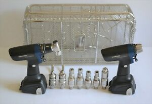 Synthes Large Bone Battery Drive Reamer drill Ii Set 28