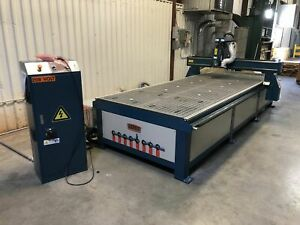 Baileigh Wr 412v 4 X 12 Cnc Router 2017 Never Used