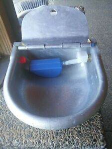 Galvanized Automatic Waterer Watering Bowl Goat Pig Sheep Cattlehorse Heavyduty