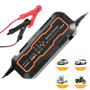 12v 24v 200ah Electric Car Dry wet Battery Charger Intelligent Pulse Repair