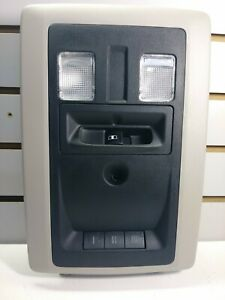 2012 Dodge Ram 1500 Overhead Console Homelink Black gray 56046064ac