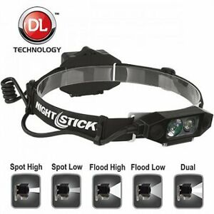 Nightstick Multi function Headlamp With Rear Safety Led Nsp 4616b