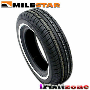 1 Milestar Ms775 P205 70r15 95s White Wall All Season Tires New