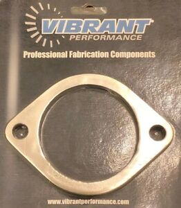 Vibrant 1473s Ss Exhaust Flange 2 Bolt 3 Id Weld On
