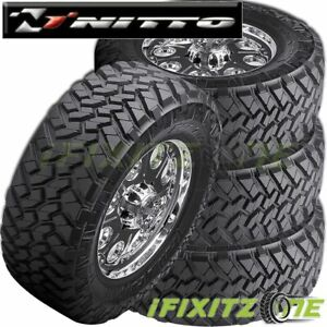 4 X Nitto Trail Grappler M t Lt315 75r16 E 10 127q Mud Terrain Tires