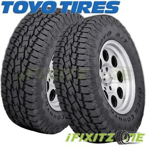 2 Toyo Open Country A T Ii Lt265 70r17 10 121s On Off Road All Terrain Tires