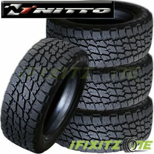 4 Nitto Terra Grappler Lt315 75r16 121q D Tires