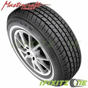 1 X Mastercraft A S Iv P205 70r15 95s White Wall All Season Performance Tires