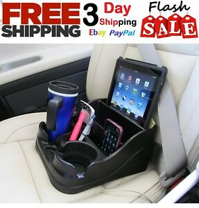 Car Cup Holder Organizer Universal Center Console Truck Adjustable Drink Storage