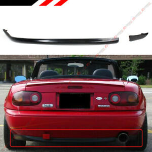 For 1990 1997 Mazda Miata Mx5 Na Jdm Add On Rear Bumper Lip Lower Diffuser