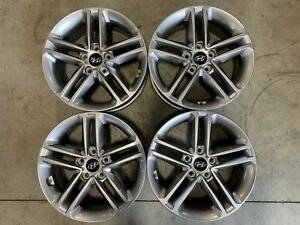 17 Factory Oem Hyundai Santa Fe Oem Factory Alloy Wheels Rims Set Of 4