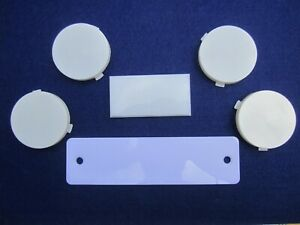 1963 1965 Buick Riviera Interior Lens Replacement Kit Dash Console Sail Panels