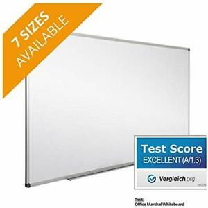 Office Marshal Professional Magnetic Dry Erase Board White Test Score Excellent
