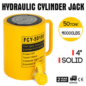50t 4 Stroke Single Acting Hydraulic Cylinder Durable Localfast Single Acting