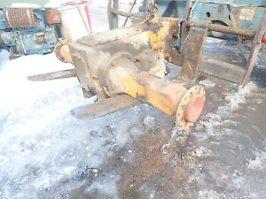 Case 680 Ck Backhoe Loader Rear Differential Transaxle 680b Tractor
