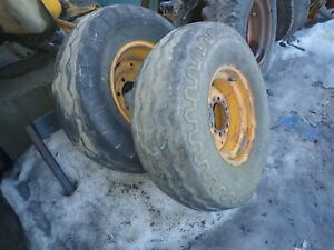 John Deere 401c Loader Tractor Tires Wheels Rims 11l 15