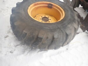 John Deere 401c Tractor Tires Wheels Rims 16 9 24 Backhoe Loader 401 410