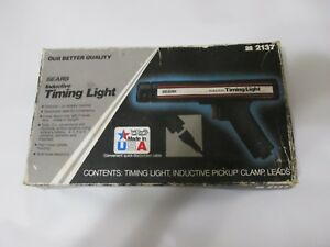 Vintage Sears Inductive Timing Light 28 2137