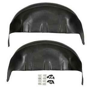 For 2017 2020 Ford F250 F350 Rear Wheel Well Liners Inner Guard Mud Flaps