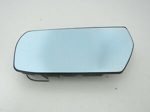Cadillac Cts 03 07 Left Driver Side Door Heated Mirror Glass Blue Tinted Oem
