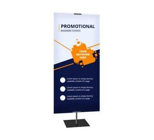 Promotional Banner Stands Trade Show Exhibition Display Sign Events