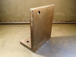Pa 5x8x10 Cast Iron Right Angle Plate Mill Machinist Fixture 10 X 8 X 5 Used