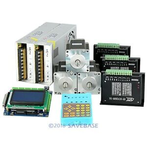Revolutionary 5a Tb6600hg Stepper Controller Cnc Kit 3 Axis Nema24 3 3nm Motor