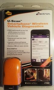 Actron Cp9600 U Scan Smartphone Wireless Vehicle Diagnostic