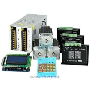 Revolutionary 5a Tb6600hg Stepper Controller Cnc Kit 3 Axis Nema23 2 5nm Motor