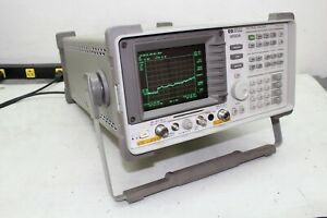Hp Agilent 8593a Spectrum Analyzer W Opt 10 04 26 Ghz Cal d Tracking Generator