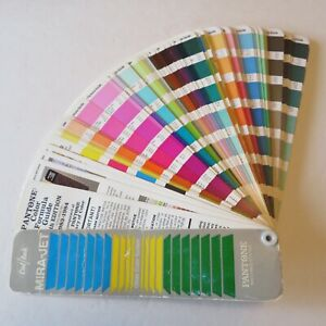Vintage Retro 80s Pantone Color Formula Guide 1984 Fan Glossy Matte