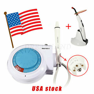 Dental Scaler Supersonic Piezo Handpiece Tips Fit Ems Woodpecker