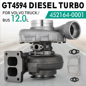 For Volvo Diesel Turbo Turbocharger D12 D12a Gt4594 New Diesel