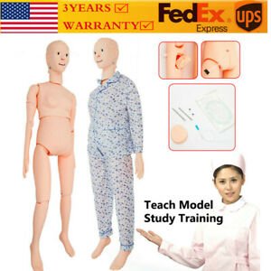 Life Size Nursing Care Mannequin Human Female Manikin Traching Prctising Model