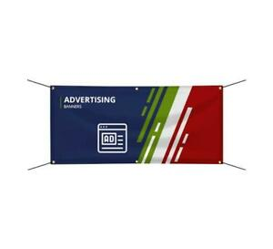 Custom Printed Advertising Banner Outdoor Business Vinyl Sign Multiple Size
