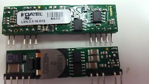Lot Of 4 Pcs Datel Lsn 3 3 16 d12 Non Isolated Dc dc Converters 52w
