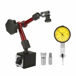 Magnetic Stand Base Holder With Lever Dial Test Indicator Gauge Precision Scale