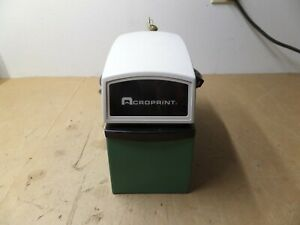 Acroprint Et W Up Lo Pla Automatic Time Stamp Clock Loc N2