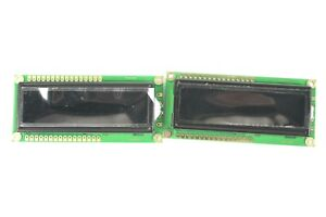Newhaven Display Lcd Module 32 Character 2x Line Pure Green 20ma matched Pair