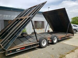 Large Vehicle And Heavy Equipment Wash Trailer