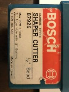 Bosch Shaper Cutter 1 2 Bead