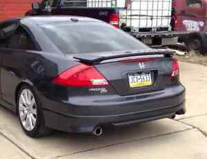 03 04 05 06 07 Honda Accord Coupe Aspec Hfp Style Rear Lip Body Kit 2003 07