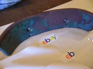 1941 Oliver 60 Row Crop Farm Tractor Seat Backrest Plate very Nice