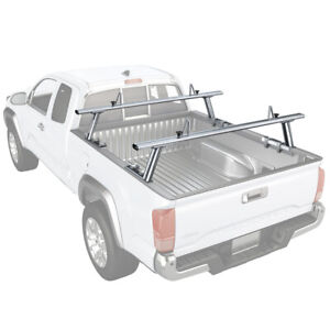 Aluminum Truck Ladder Rack Contractor Pick Up Cargo 800lbs Fits Toyota Tacoma