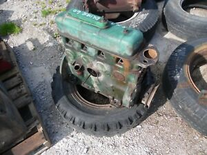 1941 Oliver 60 Row Crop Farm Tractor Engine rolled Over At Removal