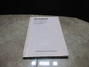 Mitsubishi Wire cut Edm Systems Wire Feeder Instruction Manual Af2 Dwc 90